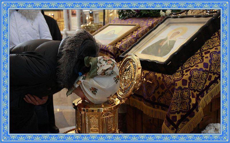 Молитвами святой Матроны