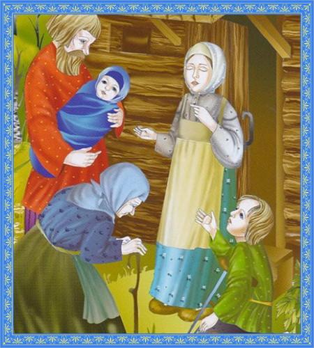 Люди у святой блаженной Матроны. Исцеление