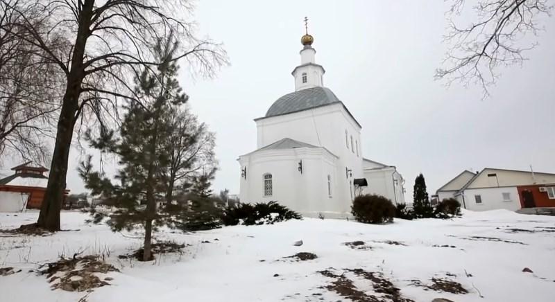 Свято-Успенский храм. Село Себино