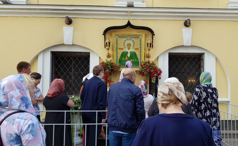 Чудотворная икона святой Матроны