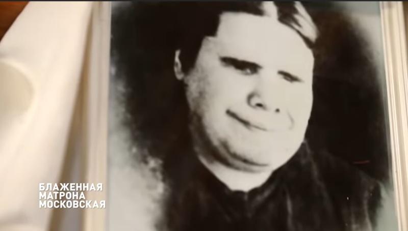 Видеофильм о блаженной Матроне. Кадр из фильма