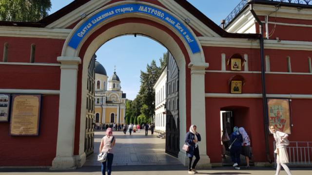 Святые врата Покровской обители