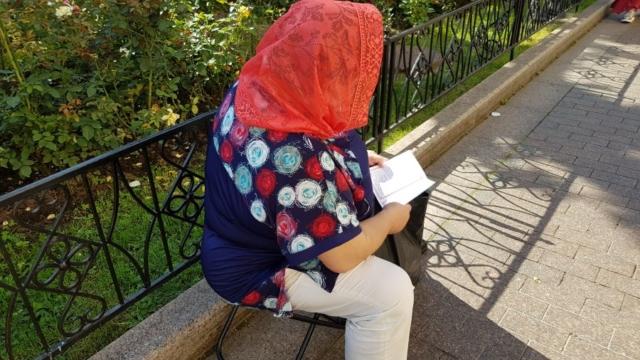 Чтение акафиста святой Матроне