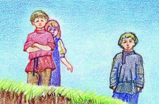 Мальчики крестьяне