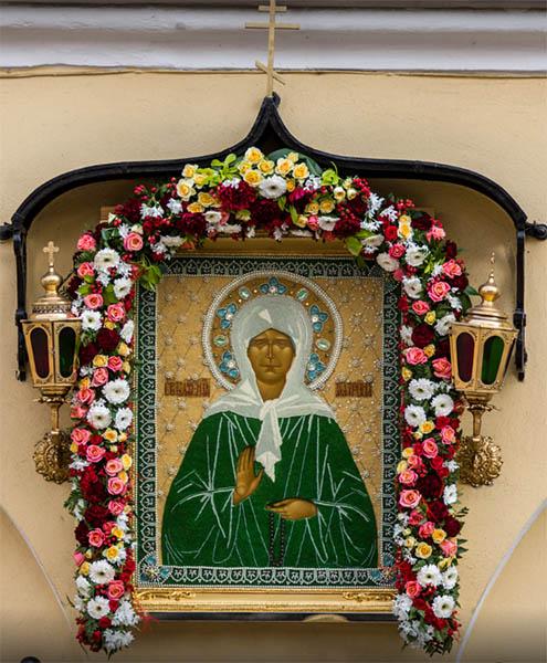 Матронушка в Покровском монастыре