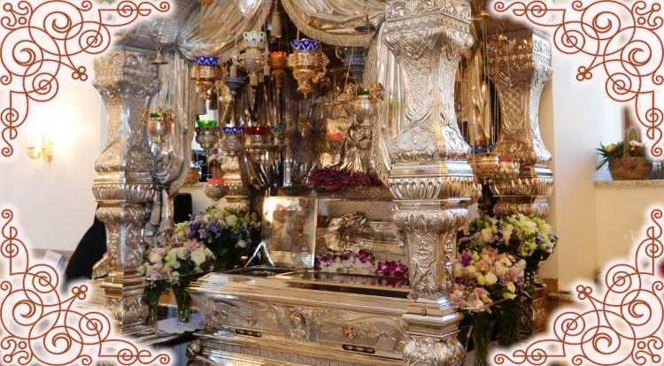 Мощи Матронушки в Покровском монастыре