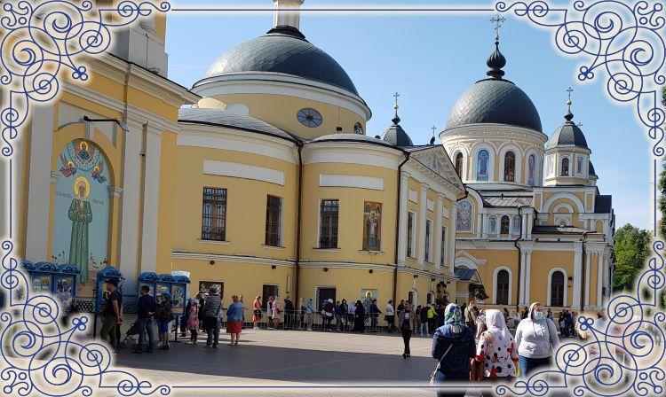 Покровский монастырь. Блаженная Матрона