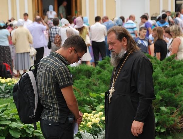 Разговор со священником. С батюшкой