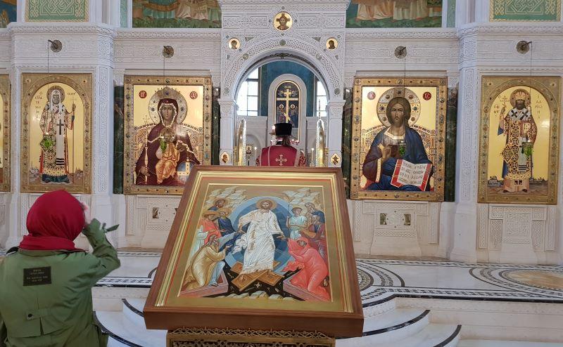 Сретенский монастырь. Воскресная Литургия