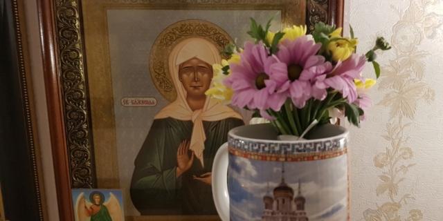 Букетик цветов, который нам подарила святая Матрона )