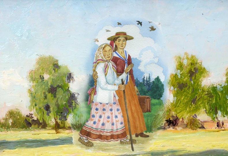 Блаженная Матрона и Лидия Янькова