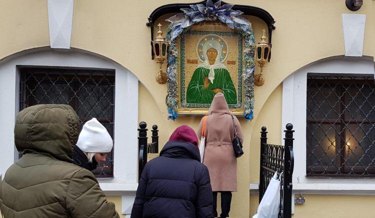 Чудотворная икона святой Матроны в Покровском