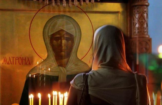 Молитва блаженной Матроне