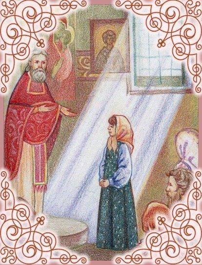 Святая Матрона и прав. Иоанн Кронштадтский