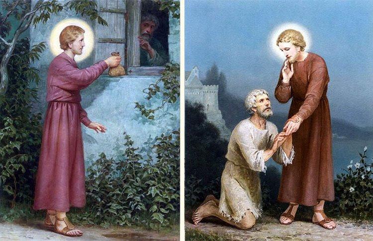 Помощь святителя Николая обнищавшему