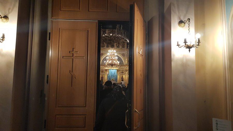 Вход в Воскресенский собор