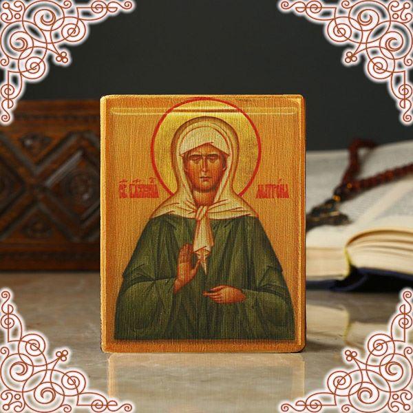Икона Матроны Московской на столике