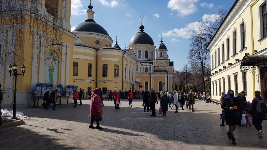 Покровский монастырь 28 марта 2021