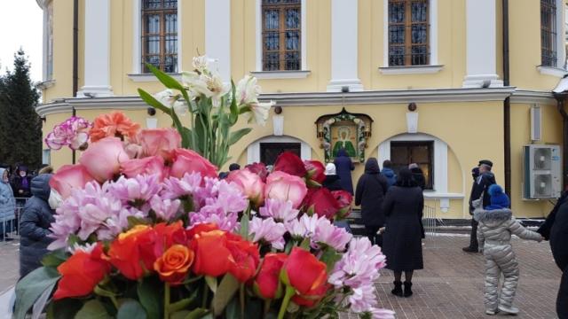 Чудотворный образ блаженной Матроны Московской