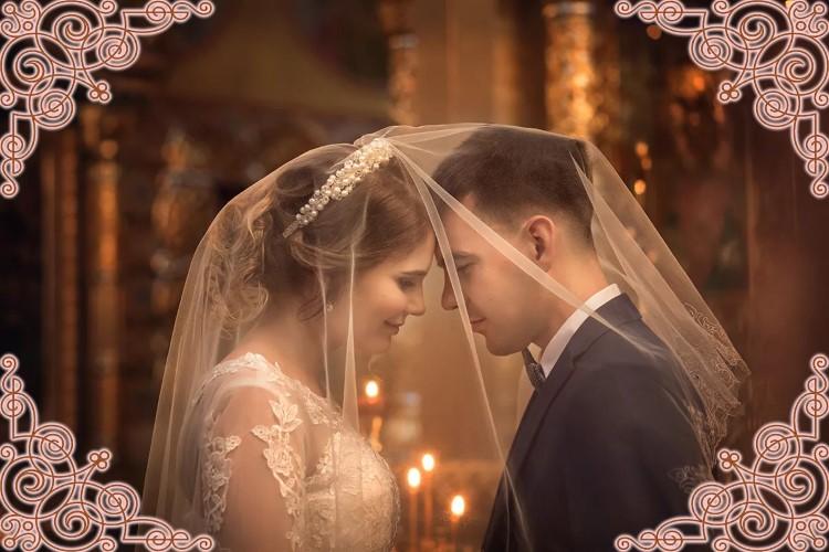 Венчание. Муж и жена