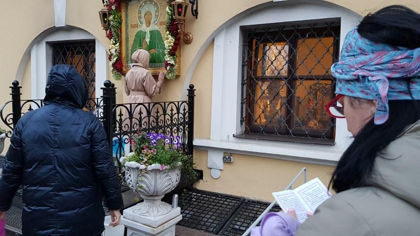Праздничная поездка к мощам св. Матроны 2 мая