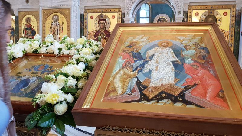 Икона Воскресения Христова и Вознесения