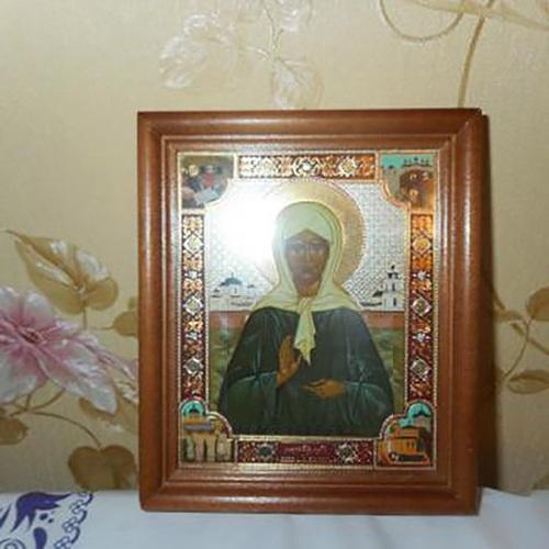 Икона святой Матроны Московской дома