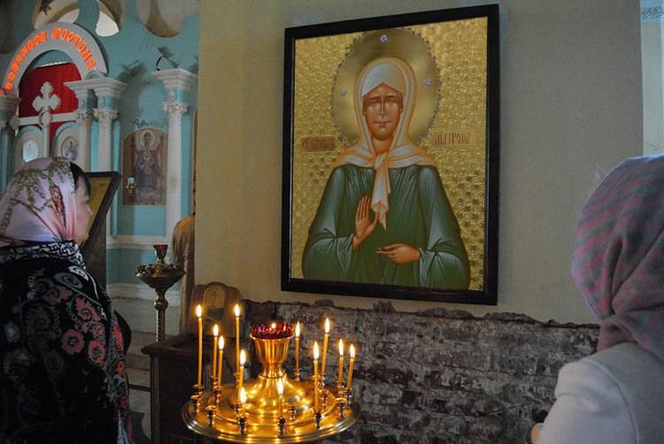 Молитва пред иконой святой Матроны