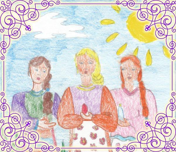Случай с тремя женщинами у блаженной Матроны
