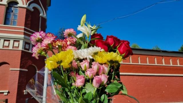 Букет цветов блаженной Матронушке