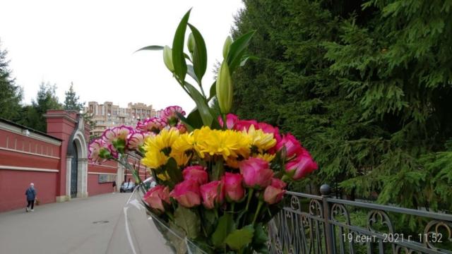 Цветы к мощам св. Матроны