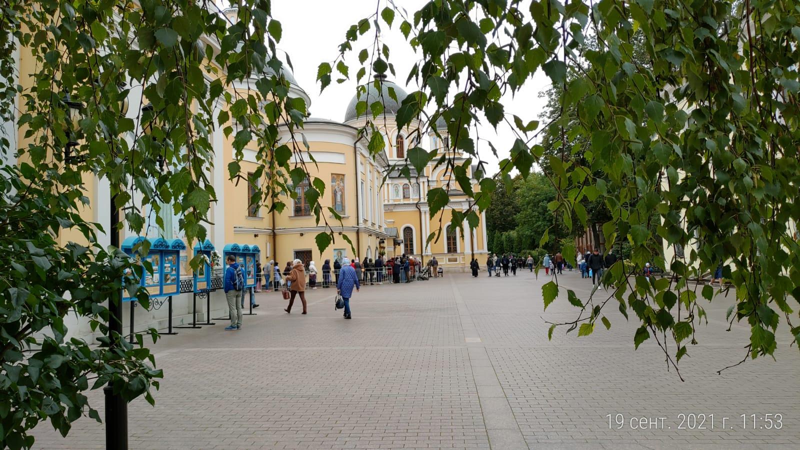 Покровский монастырь 19 сентября 2021